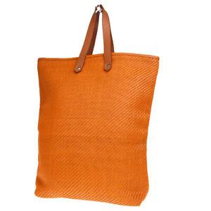 Tasche 66ep145 Gm Hand Hermes Diego Leder Polyester Auth Orange Ahmedabad xtAqzXx7