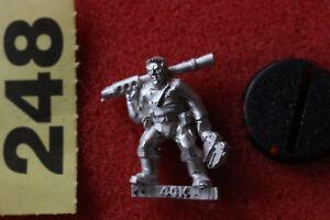 Atelier de jeux Warhammer 40k Astra Militarum Crew Tank Crew Imperial Guards Nouveau Métal