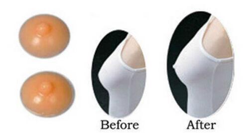 Self Adhesive Realistic Silicone Nipple Cover Natural /& Suntan Skintone Styles