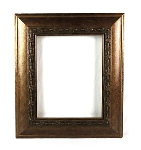 Vintage-Antique-Style-Picture-Frame-Gold-Gilt-Gesso-Baroque-Fits-14-x-11