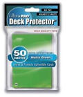 Ultra Pro Sleeves 50 D12 Card Game Green