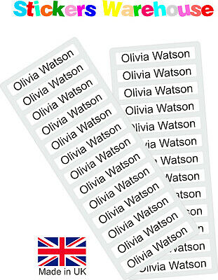 School Labels Stickers Tags