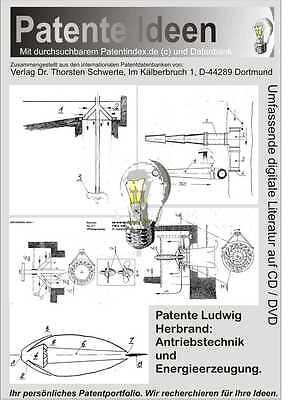 Freie Energie, Ludwig Herbrand Patente 80 Seiten