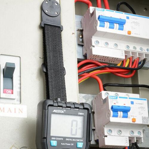 UK Strong Magnetic Hanging Belt Loop Strap Multimeter Holder Hanger for Fluke