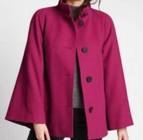 12 M Raspberry Bnwt S amp; Coat Size Red Ladies Trapeze Cape Collection vHvwFrq