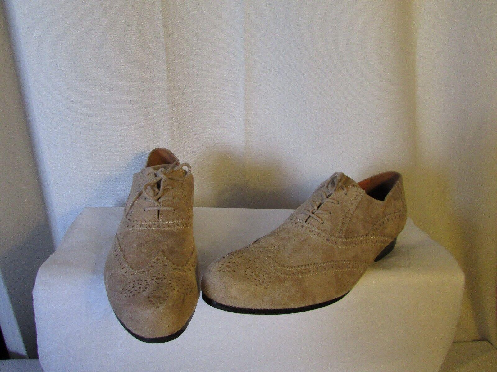 shoes Blackstone Suede Sand 44