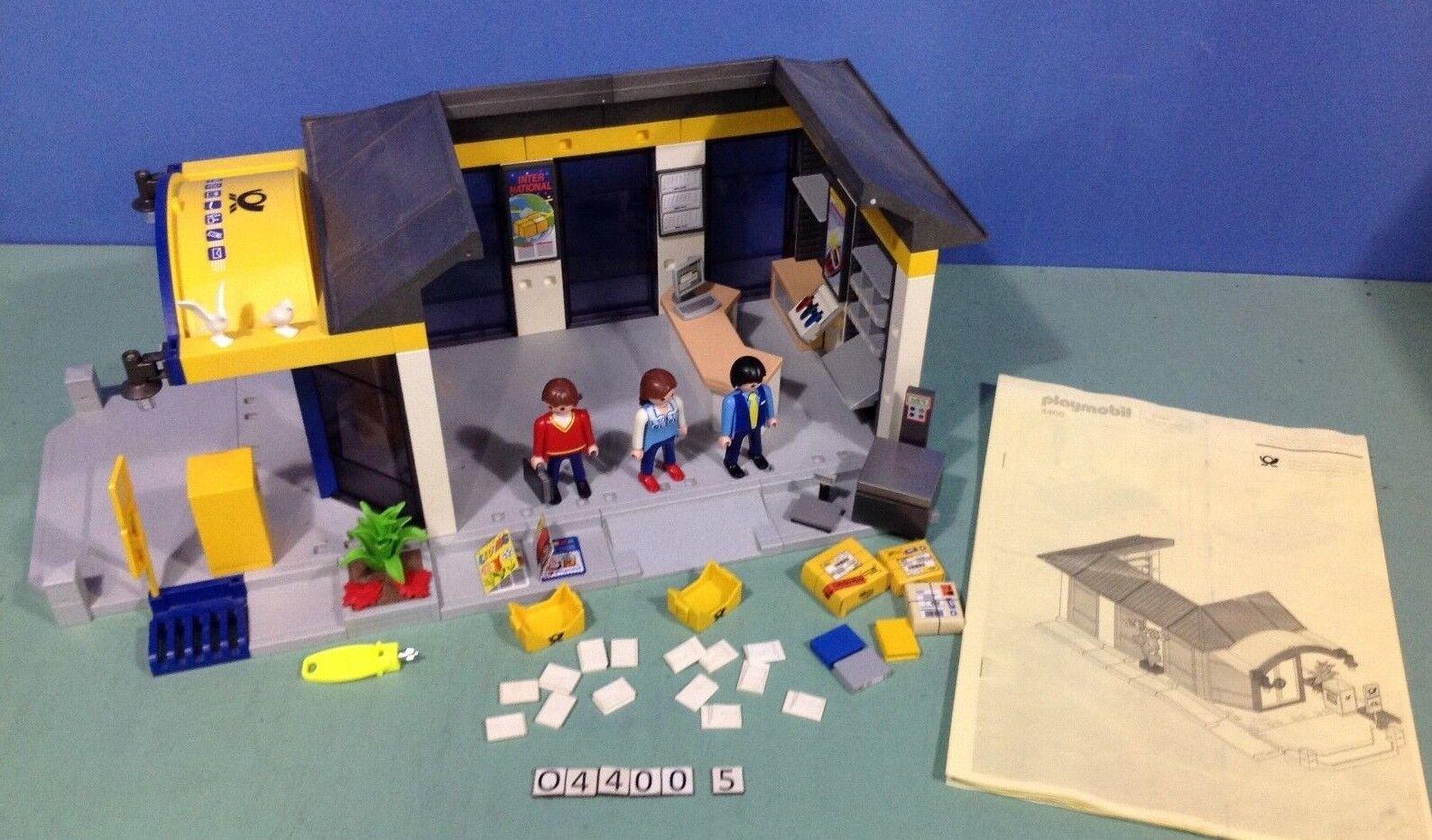 (O4400.5) playmobil bureau de poste ref 4400