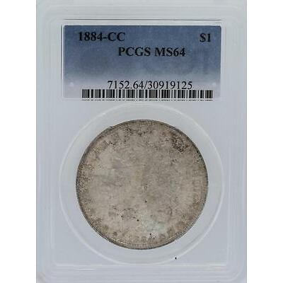 1884-CC PCGS MS64 Morgan Silver Dollar Lot 6