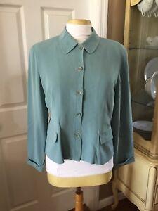 Vintage Blazer Silk Due in seta Collection Per qqArO81w