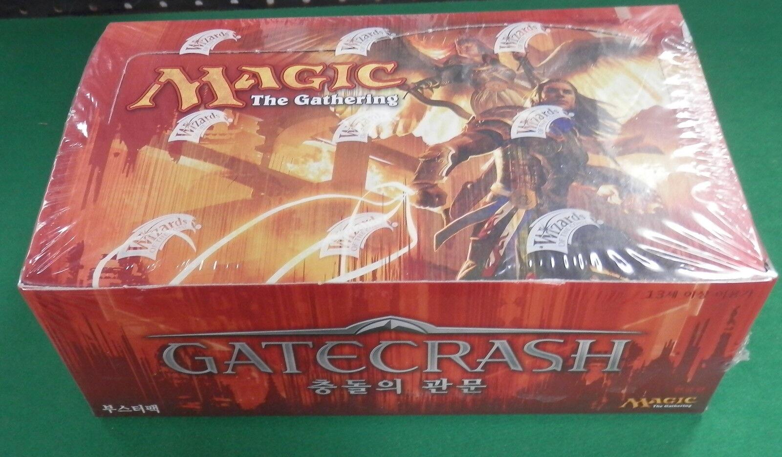Magic the Gathering Gatecrash Booster Box Korean Language