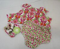 Girls' Vera Bradley Dress & Shoes 6-9 Months Lilli Bell