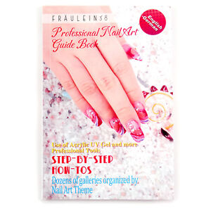 Image Is Loading Nail Art Step By Guide Technique Book