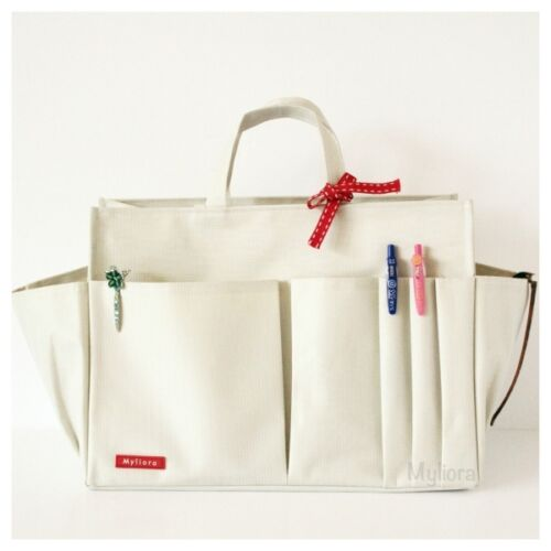 Off-White XXL MYLIORA Waterproof Shaper Liner Bag Insert Purse Organiser M