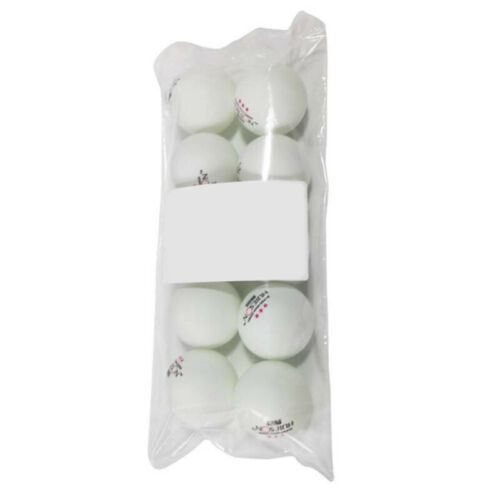 Table Tennis Balls Ping Pong Competition Durable 3 Stars Training Use 10pcs Hot