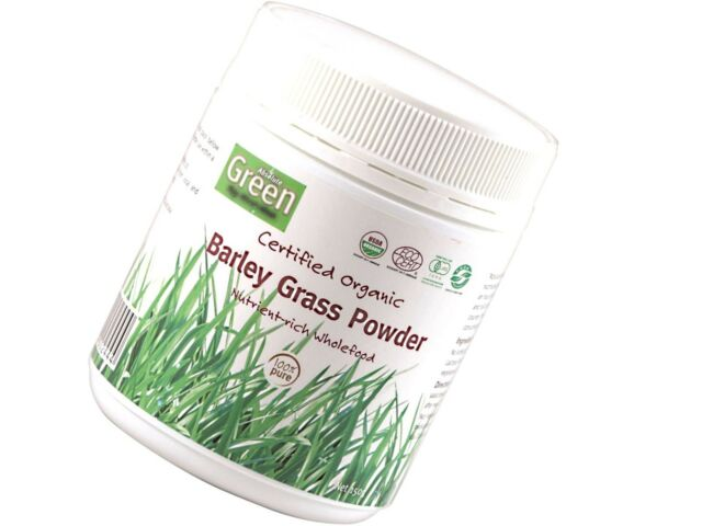 Absolute Green Certified Organic Barley Grass Powder 150g