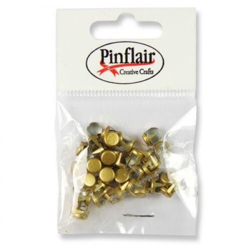 50 Pinflair clous en métal Lot de env