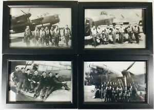 RAF-WW2-LANCASTER-BOMBER-AEROPLANE-FRAMED-PHOTOGRAPHS-PRINTS