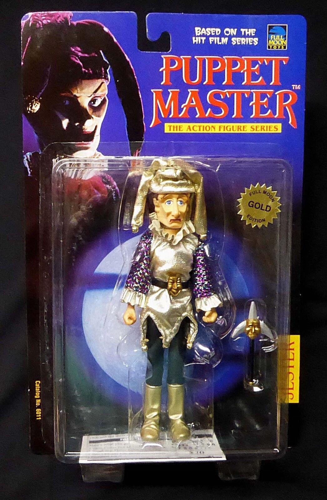 Puppet Master Jester Gold Figure Full Moon Toys Legends of Horror New 1998