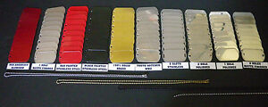 military dog tags blank 160 pieces pack new 10 each tags shown army marines