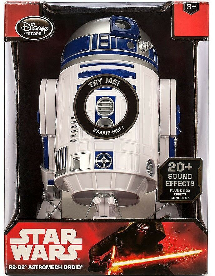 Star Wars R2-D2 Astromech Droid Exclusive 10.5-Inch Talking Figure