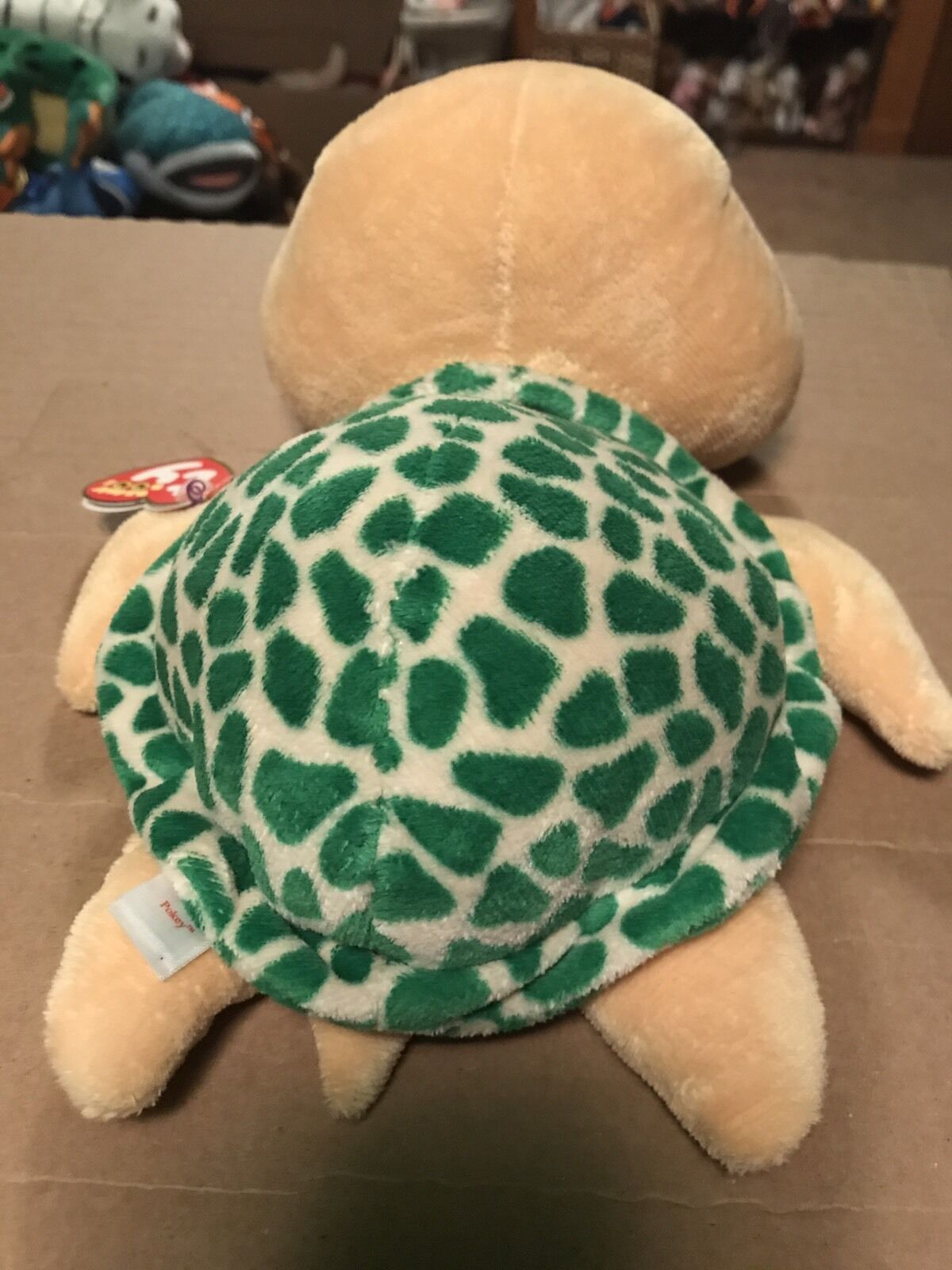 ... Ty POKEY -Yellow Green Sea Sea Green Turtle 10 Beanie Boo Buddy Retired  RARE ... 00fbb35a2d87