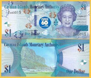 Cayman-Islands-1-Dollar-p-new-2018-2020-Commemorative-UNC-Banknote