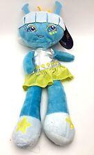 Blue Alien Sapphire Plush Doll Shiny Dress HugFun 14 inch New
