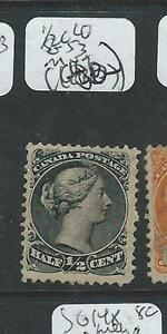 CANADA (P2407B) 1/2C LARGE QUEEN SG 53 MNG