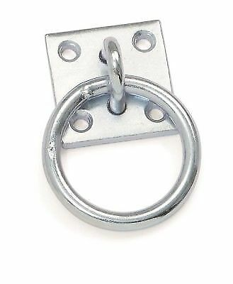 Tie Ring with Plate rust proof galvanised steel. 984