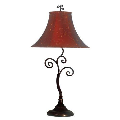 31380BRZ Kenroy Home Richardson Table Lamp Bronze Finish