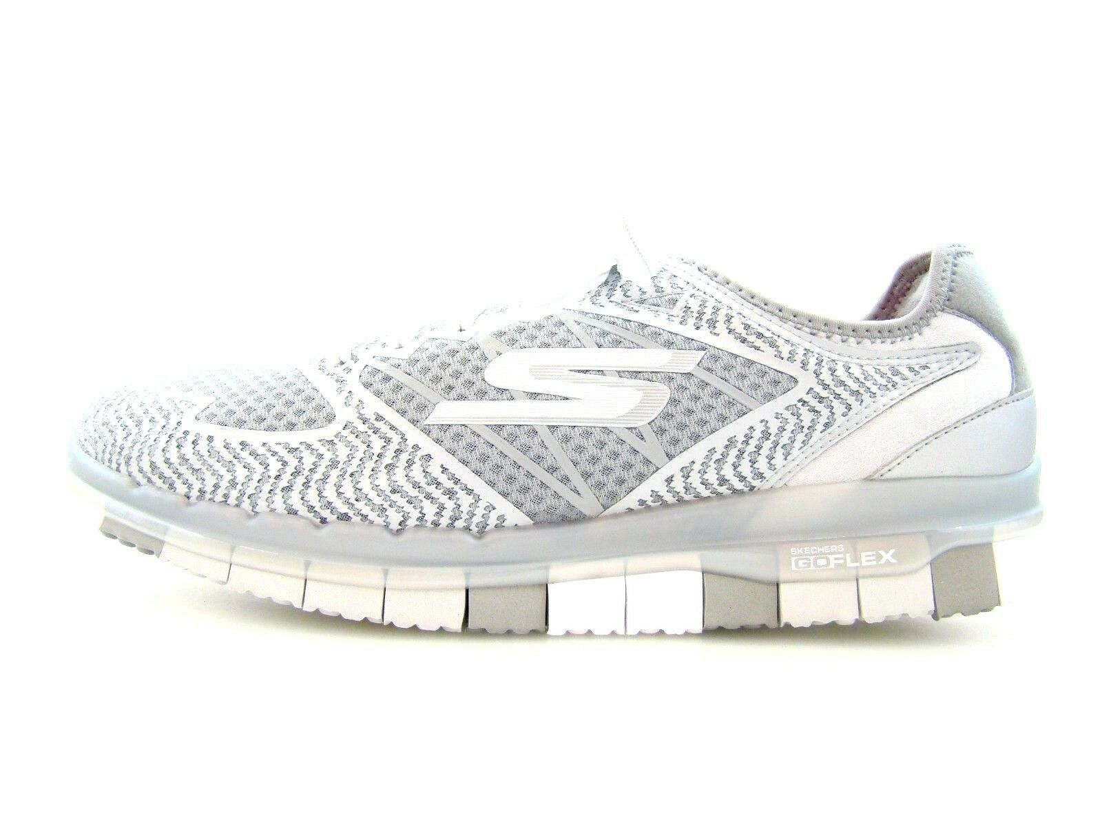 2826 SKECHERS Sneaker 40 Sohle NEU Turnschuhe komfortabel flexible Sohle 40 grau weiß dac85d