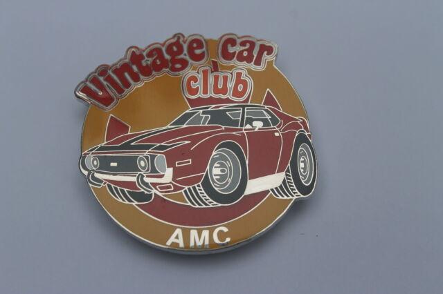 AMC AMX Javelin vintage club grille badge emblem