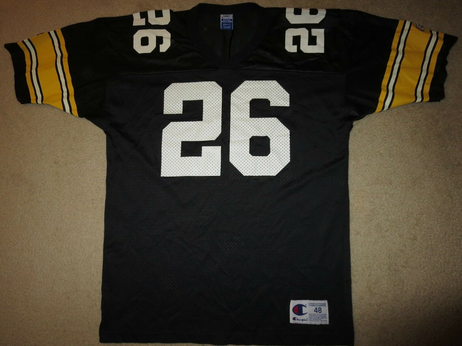 Barra Woodson Pittsburgh Steelers NFL Champion Camiseta 48 XL