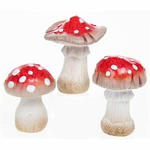 Carino Da Giardino Funghi Velenosi I Funghi Funghetti Magici perfetta per giardini di fata Ornamenti