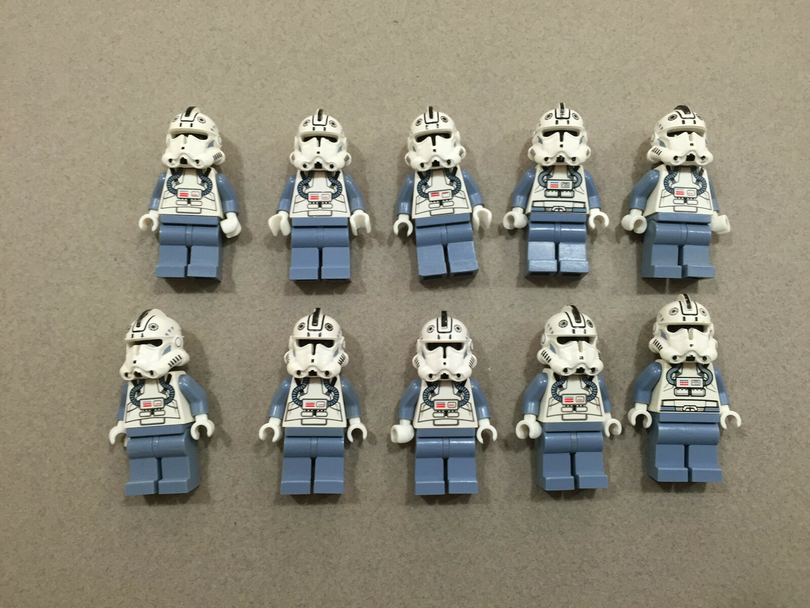 LEGO Clone Trooper Lot of 10 Star Wars Minifigure minifig Huge LOT Clones Q181