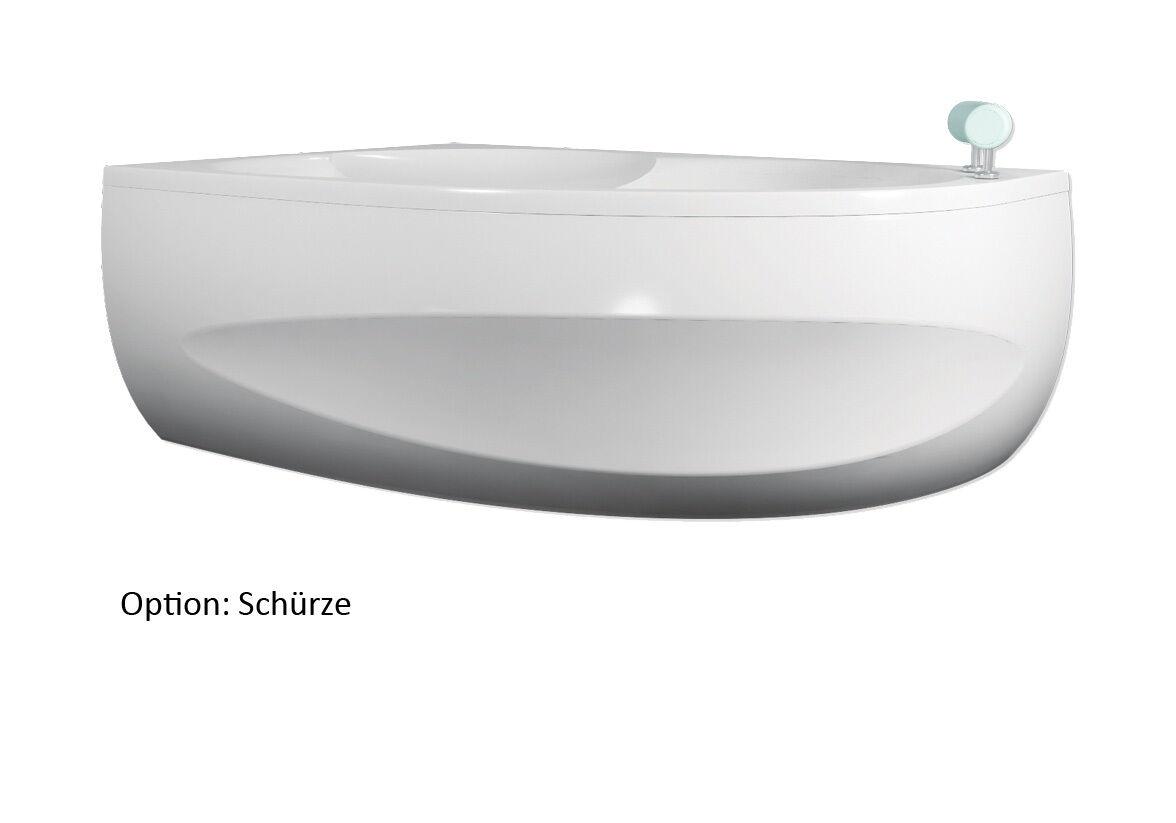 Badewanne 170x100 cm + Schürze + Füße + Ablauf + + + Befestigung Komplettangebot L 8f2f3d