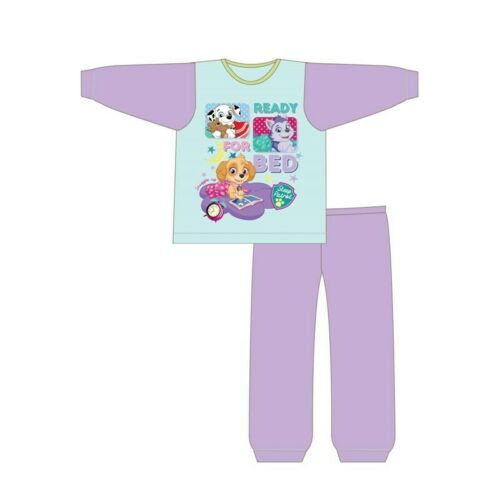 Girls Paw Patrol Pyjamas Kids Nightwear 18 Months to 5 Years Long Sleeve Pink