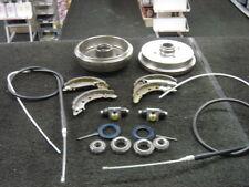 VW GOLF MK1 CABRIOLET GTI BRAKE DRUM SHOE CYLINDER WHEEL BEARING BRAKE CABLE NEW