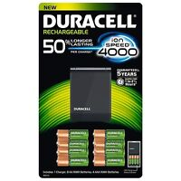 Duracell Rechargeable Ion Speed 4000 Battery Charger ,battery Made Japan
