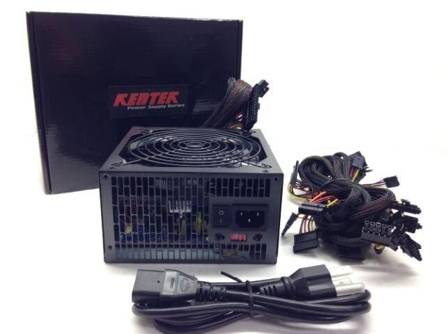 875W 875 Watt Modular ATX Power Supply Gaming 120MM 12CM Fan SATA PCIe Sli Ready
