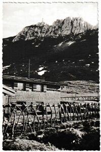 Ansichtskarte Kampenwand mit Steinlingalm - Hohenaschau/Chiemgau - schwarz/weiß