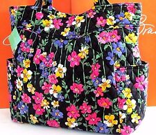 NWT Vera Bradley Pleated Tote Wildflower Garden