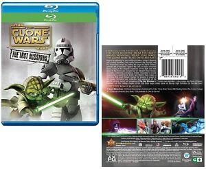 Star Wars The Clone Wars 2014 6 Lost Missions Tv Season Series New Blu Ray Ebay