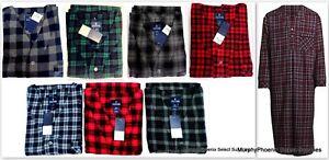 85b10a6c47 Mens Stafford Flannel Nightshirt XXL (2XL) NWT MSRP  50 Choose Color ...