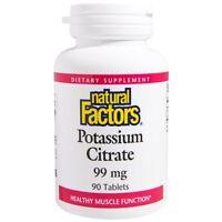 Potassium Citrate 99 Mg 90 Tablets - Natural Factors