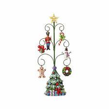 Jim Shore Heartwood Creek Christmas Tree of Good Tiding 6 Mini Ornaments 4056588