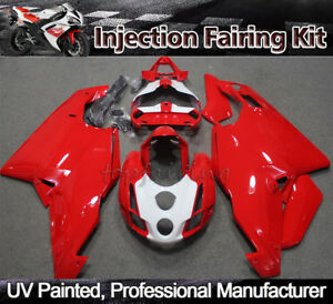 Red-Fairing-Bodywork-Kit-for-DUCATI-999-749-2003-2004-03-ABS-Injection-Bodywork
