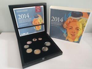 Coffret BE Proof Euros Autriche 2014 - 8 pièces 1 centimes à 2 Euros