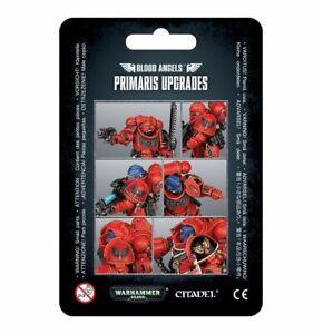 Blood-Angels-Primaris-Upgrades-Space-Marines-Warhammer-40K-NIB-Blister-Pack