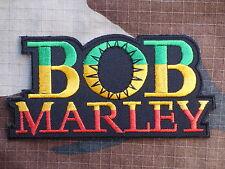 ECUSSON PATCH toppa aufnaher THERMOCOLLANT BOB MARLEY raggae rock  /11.3 x 5.7cm